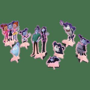 Decoração de Mesa Vampirina 4 unidades