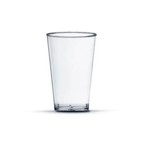 Copo Pic 300 de Acrílico com 10 Unidades Cristal