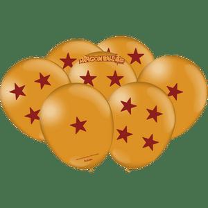 Balão de Latex n°9 Dragon Ball 25 unidades