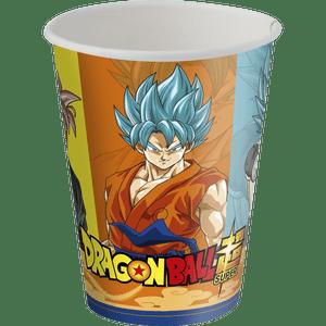 Copo de Papel 200ml Dragon Ball 8 unidades