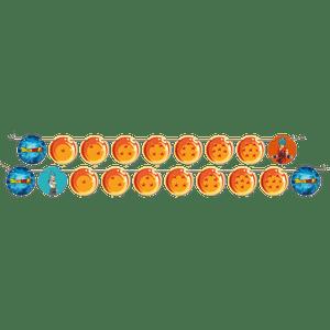 Faixa Feliz Aniversário Dragon Ball