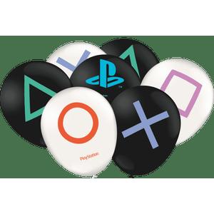 Balão de Latex n°9 Playstation 25 Unidades