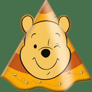 Chapéu Pooh e sua Turma 8 unidades