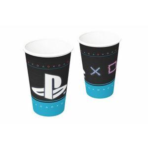 Copo de Papel 200ml Playstation 8 unidades