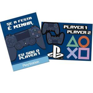 Kit Painel Decorativo Playstation