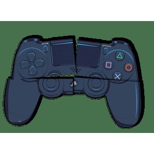 Painel 4 Laminas Playstation 126cmx88cm