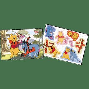 Kit Painel Decorativo Pooh e sua Turma