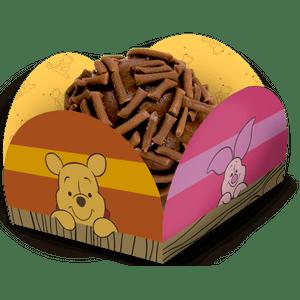 Porta Forminha Pooh e sua Turma 40 unidades