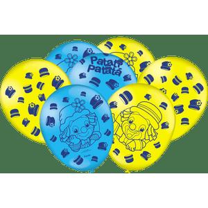 Balão de Latex n°9 Patati Patata 25 Unidades