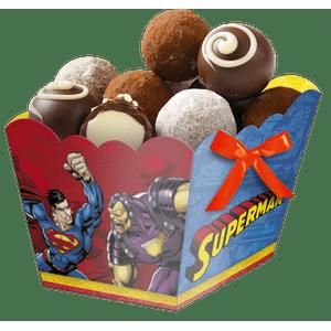 Cachepot Médio Superman 8 unidades
