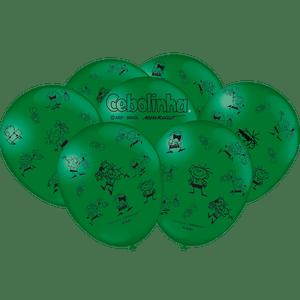 Balão de Latex n°9 Cebolinha 25 Unidades