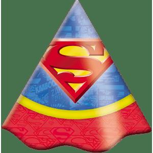 Convite decorativo Superman 8 unidades