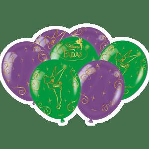 Balão de Latex n°9 Fadas 25 unidades
