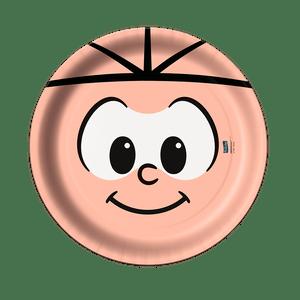 Prato de Papel Rígido Cebolinha 8 unidades