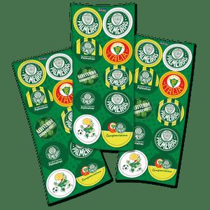 Adesivo Palmeiras - 30 unidades