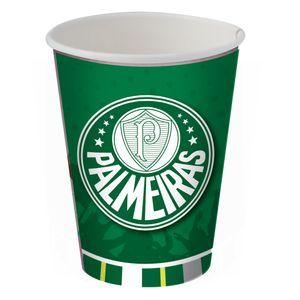Copo de Papel 200ml Palmeiras - 08 unidades