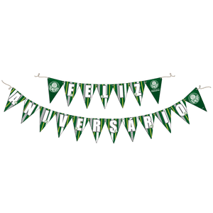 Faixa Feliz Aniversário Palmeiras