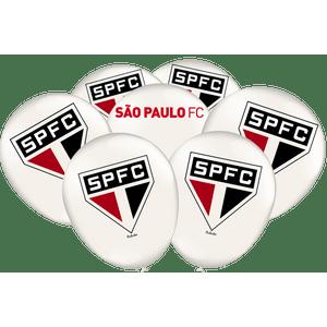 Balão de Latex n°9 São Paulo - 25 unidades