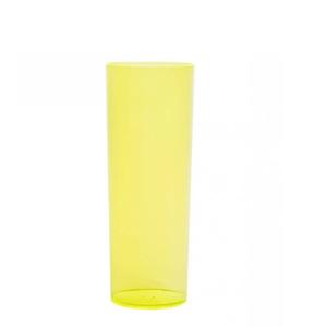 Copo Pic 360 de Acrílico Long Drink Amarelo Limão Glass