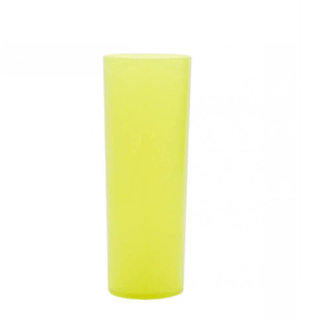 Copo Pic 360 de Acrílico Long Drink Amarelo