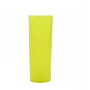 Copo Pic 360 de Acrílico Long Drink Amarelo Ouro Glass