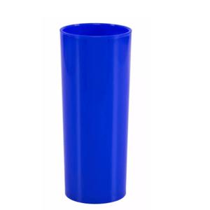 Copo Pic 360 de Acrílico Long Drink Azul