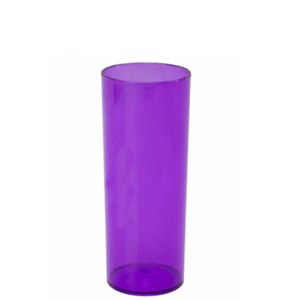 Copo Pic 360 de Acrílico Long Drink Roxo Glass