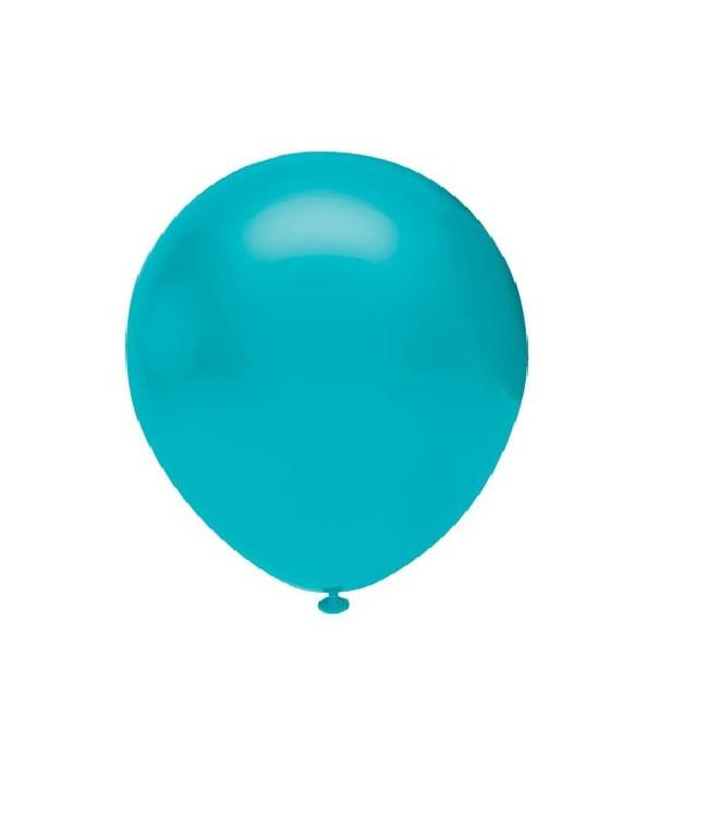 Balao-de-Latex-Buffet-9-com-50-Unidades-Azul-Celeste