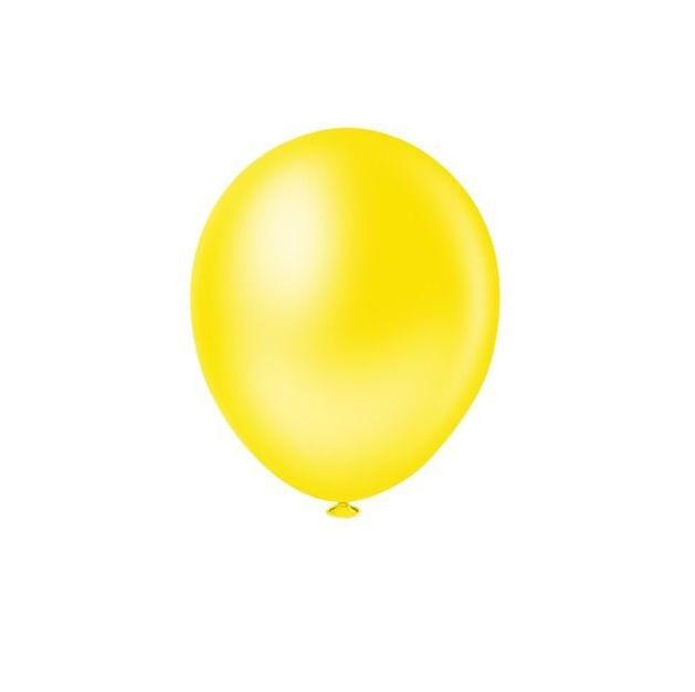 Balao-de-Latex-Buffet-9-com-50-Unidades-Amarelo