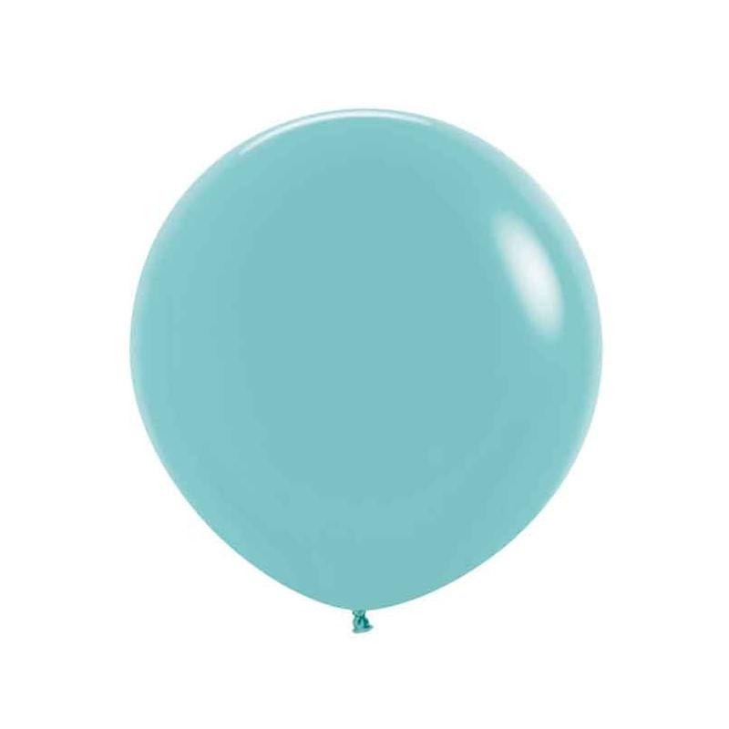 Balao-de-Latex-Buffet-9-com-50-Unidades-Azul-Claro