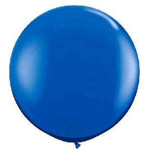 """Balão de Látex 250"""" Liso Azul"""