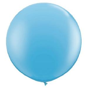 """Balão de Látex 250"""" Liso Azul Claro"""