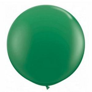 """Balão de Látex 250"""" Liso Verde"""