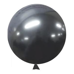 """Balão de Látex Cromado 5"""" com 25 Unidades Onix"""