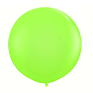 """Balão de Látex 250"""" Liso Verde Lima"""