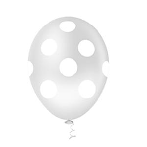 """Balão PIC PIC 10"""" Bolinha Cristal com Branco - Pacote com 25 Unidades"""