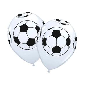"""Balão PIC PIC 10"""" Bola de Futebol - Pacote com 25 Unidades"""