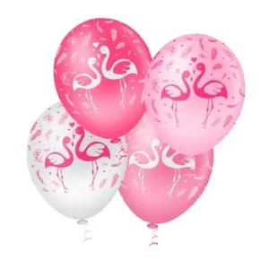 """Balão PIC PIC 10"""" Flamingo Sortido - Pacote com 25 Unidades"""