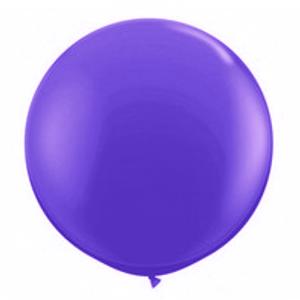 """Balão de Látex 250"""" Liso Roxo"""