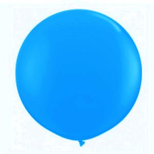 """Balão de Látex 250"""" Liso Azul Turquesa"""