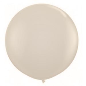 """Balão de Látex 250"""" Liso Bege"""