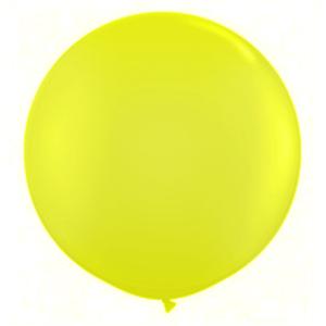 """Balão de Látex 250"""" Liso Amarelo Ouro"""