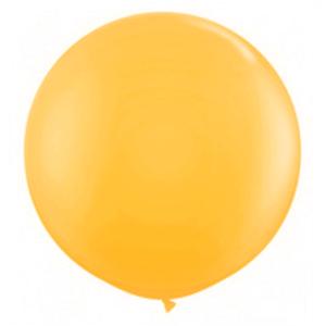 """Balão de Látex 250"""" Liso Laranja"""