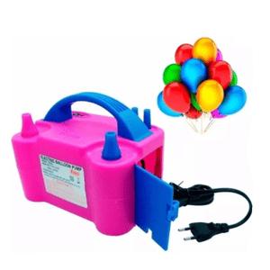 Bomba de Ar Eletrica Para Balões com 2 Bicos 220v