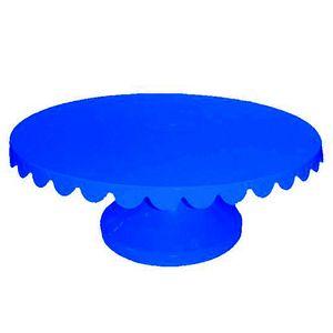 Boleira Giratória de Plástico com 32cm Azul Bic