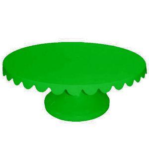 Boleira Giratória de Plástico com 32cm Verde Escuro