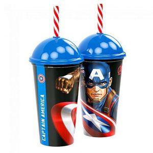 Copo Shake Capitão America - 500ml
