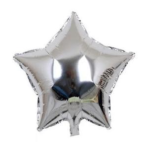 Balão Metalizado Formato Estrela 25cm