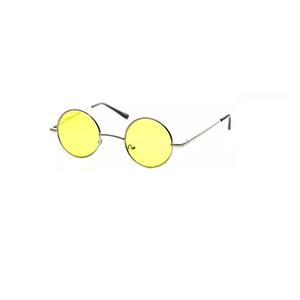 Óculos Retrô Amarelo