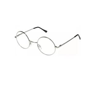 Óculos Retrô Transparente